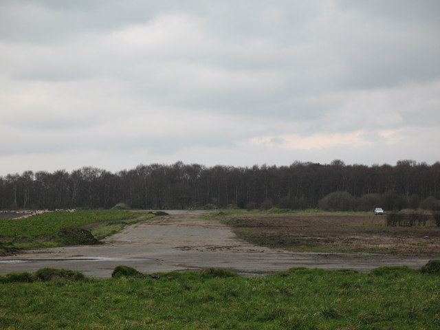 Old Airfield and High Carr Wood