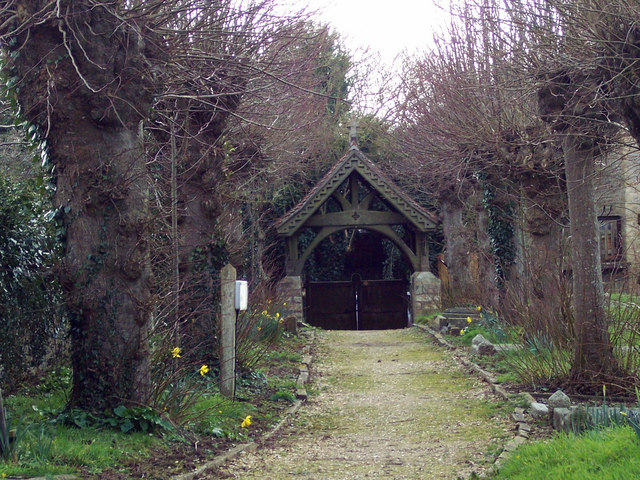 St Michael and All Angels Church, Stour Provost - Lych Gate
