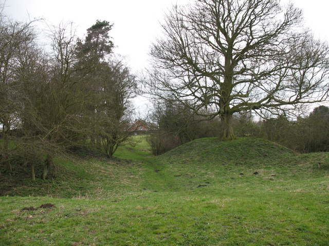 Motte and Bailey at Sheriff Hutton