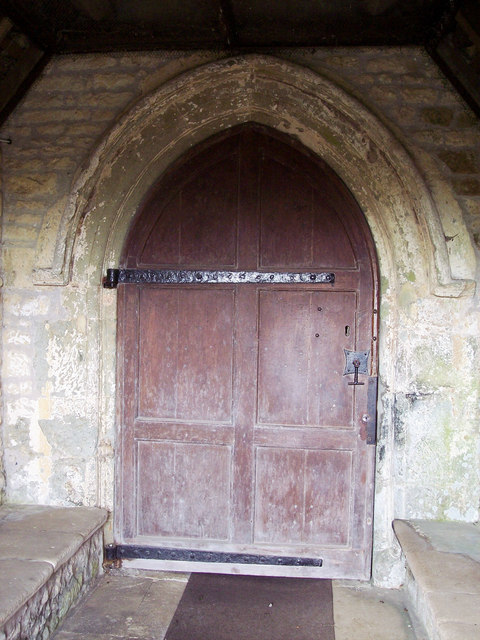 St Michael and All Angels Church, Stour Provost - Door