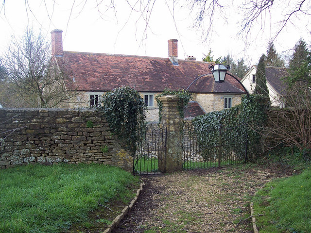 Churchyard gate at St Michaels and All Angels, Stour Provost