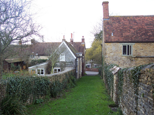 Path from churchyard, Stour Provost