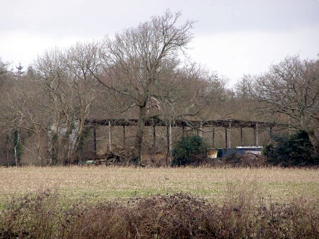 Barn on the edge of Pit Copse, Hazelcopse Farm, Beaulieu Estate