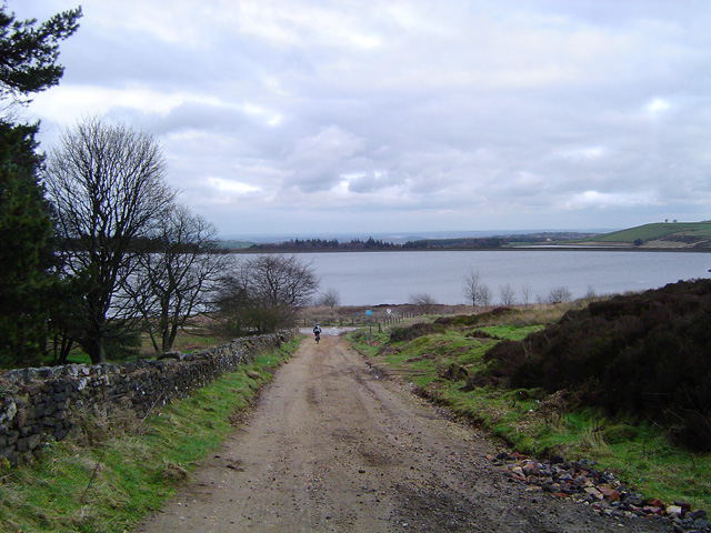 Redmires Reservoirs from the Packhorse Way