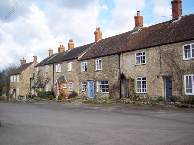 Terraced houses in Stour Provost