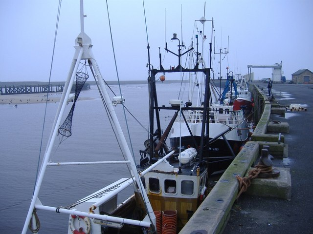 Dockside, Amble