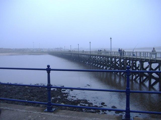 The jetty, Amble