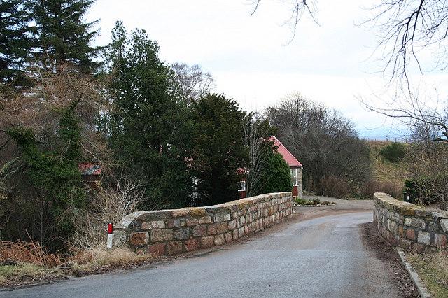 Bridge over the Allt Arder Burn.