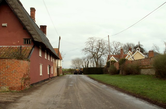 Part of Oakley village