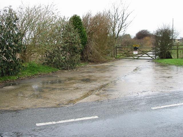 Entrance to Sherleys Farm