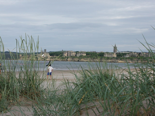 On the beach in St. Andrews