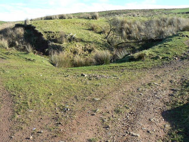 Barr Farm Track Junction