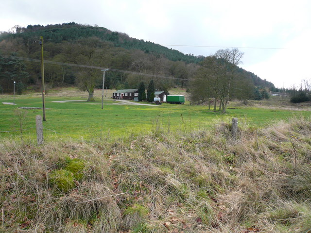 Overton Camp - View from Gin Lane