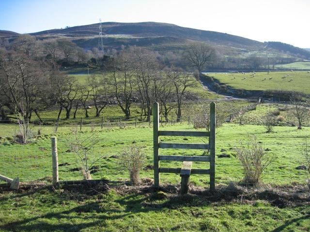 Stile at Pen-y-Bryn Farm