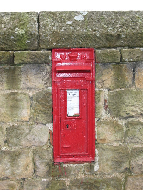 Victorian post box, Ganthorpe.