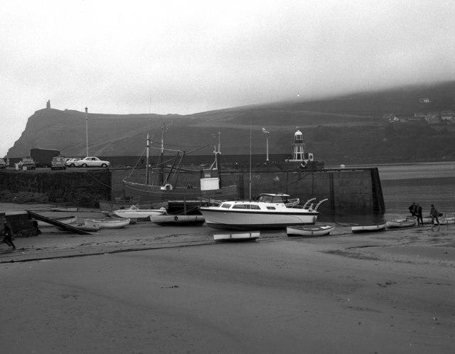 Port Erin harbour, Isle of Man
