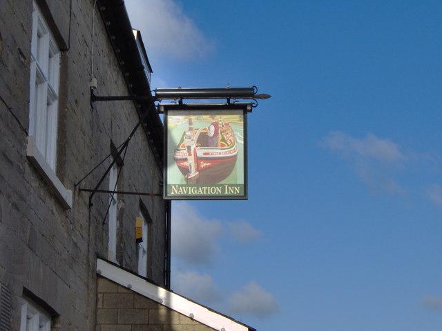 The Navigation Inn Pub Sign