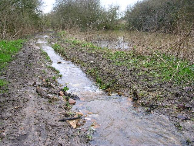 Foot waterway