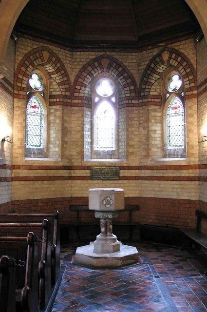 Holy Trinity, Bentley Heath, Herts - Baptistery