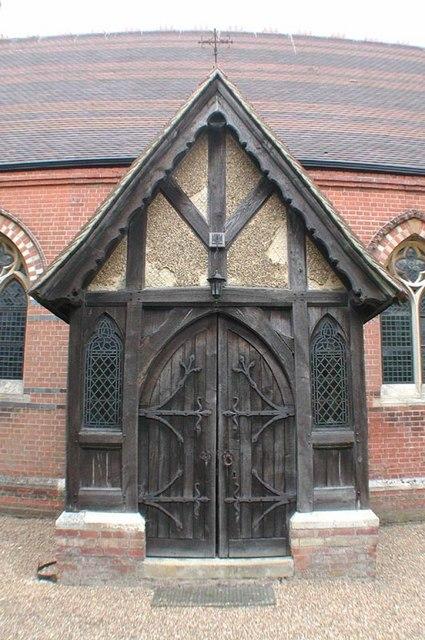 Holy Trinity, Bentley Heath, Herts - Porch