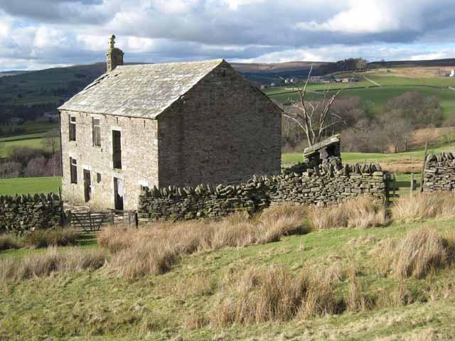 Ruined house at East Shittlehopeside