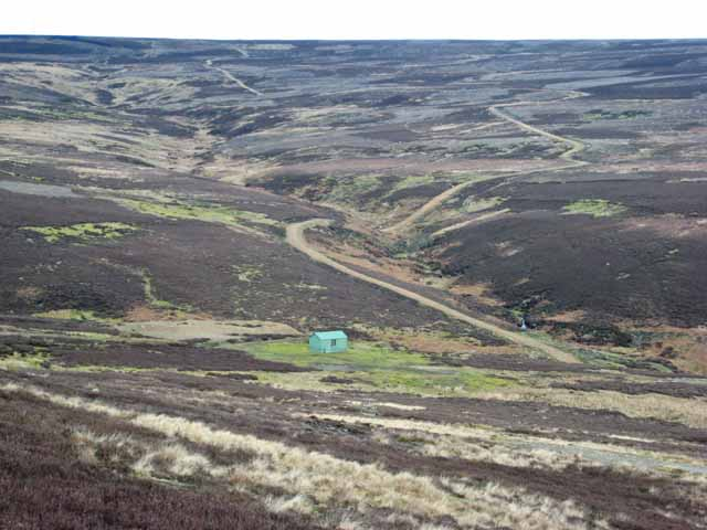 Wolsingham Park Moor and the valley of the Black Burn