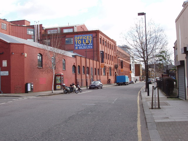 Warehouse converted to offices, Kensal Road