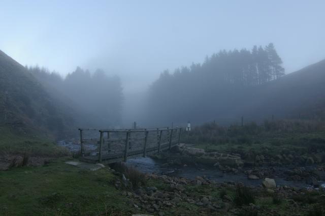 Footbridge over Hareden Brook
