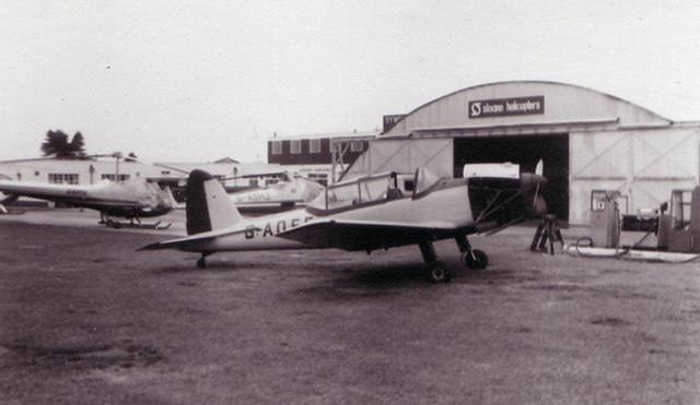 Aircraft at Sywell, July 1975