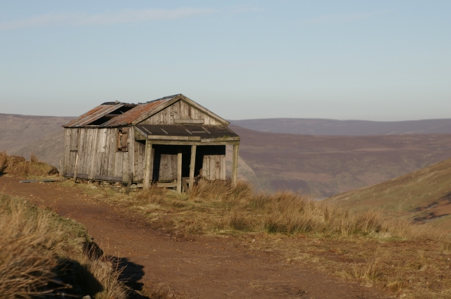 Shooting Lodge on Hareden Fell