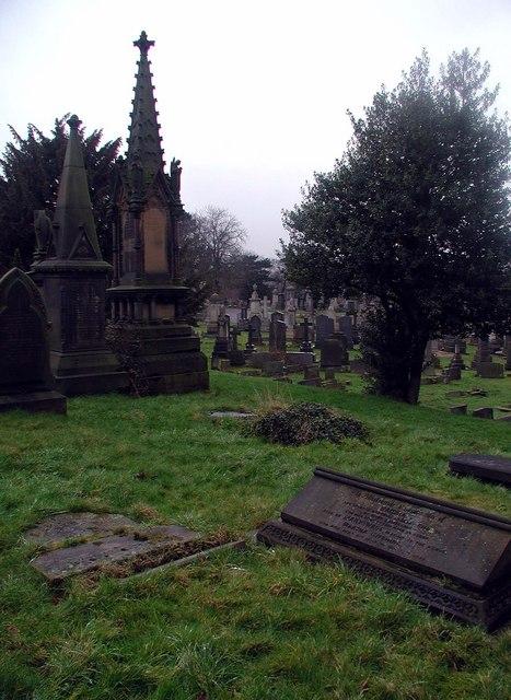 Scholemoor Cemetery, Bradford