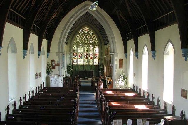 St John the Evangelist, Lemsford, Herts - East end