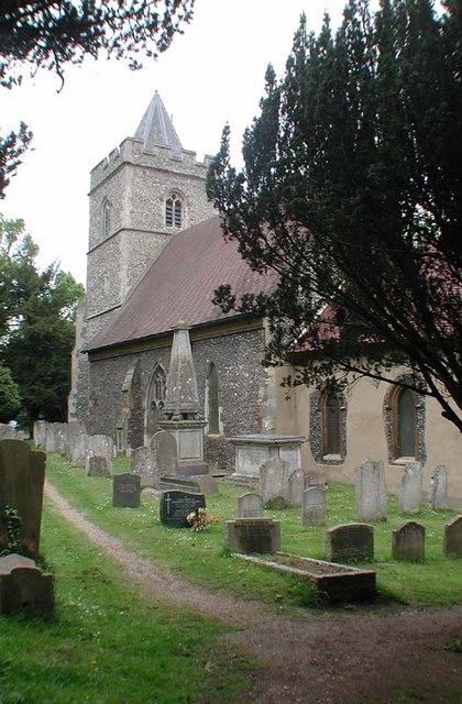 St John the Baptist, Great Amwell, Herts