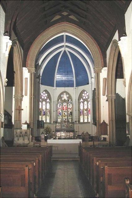 St Andrew, Hertford, Herts - Chancel