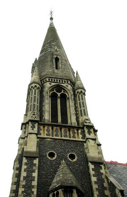 St Andrew, Hertford, Herts - Spire