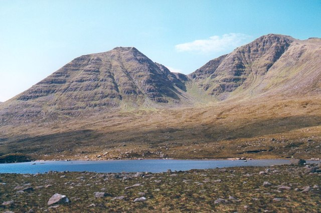 Coire Mor from Loch na h Oidhche