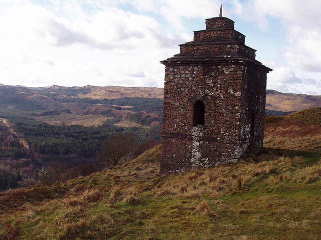 Folly at Dun na Cuiache, Inveraray