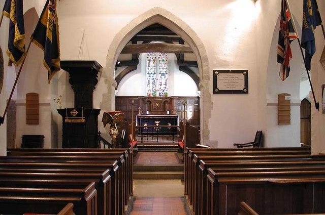Holy Cross, Sarratt, Herts - East end