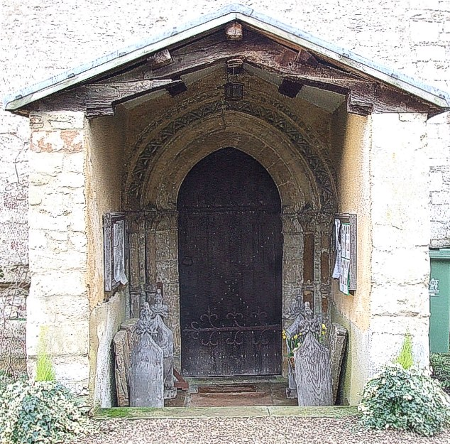 Porch, St. John the Evangelist, Radclive