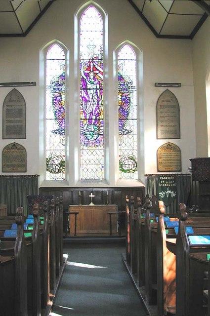St Mary Magdalene, Flaunden, Herts - East end