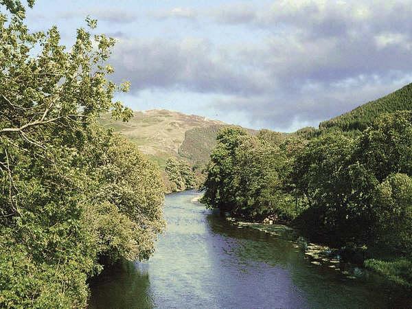 River Tweed from Glenkinnon Bridge