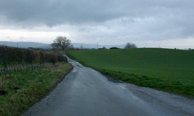 Road to Seamer Moor Farm