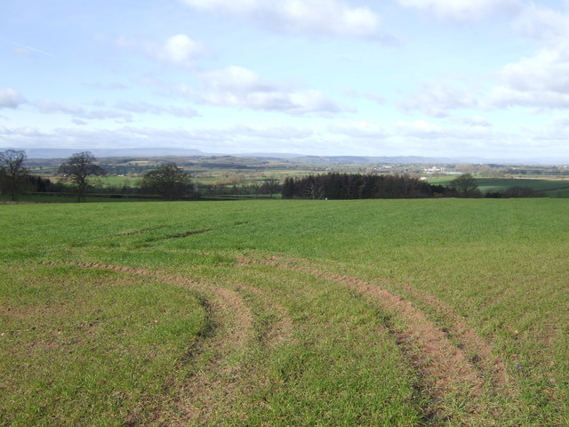 View west to Hay Bluff