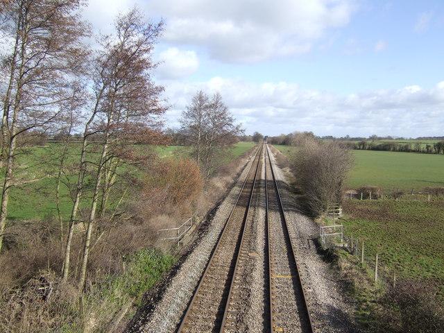 Hereford to Abergavenny railway line