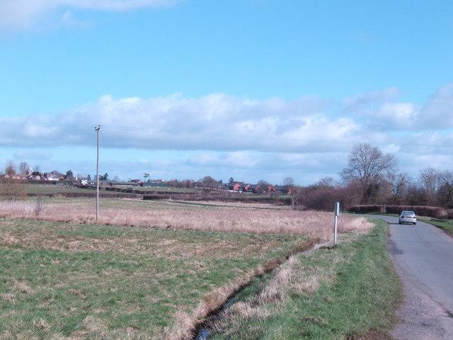 Lane to Eaton Bishop