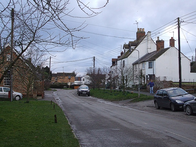 Main Street, Gawcott - view to West