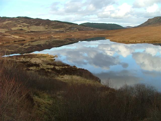 Reflections on Lochalsh Dam