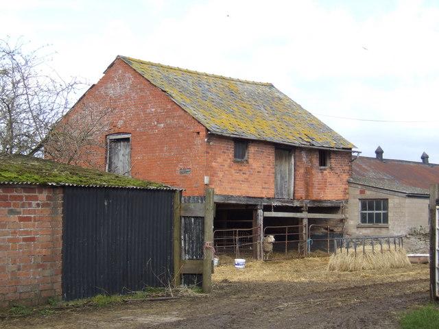 Brick barn