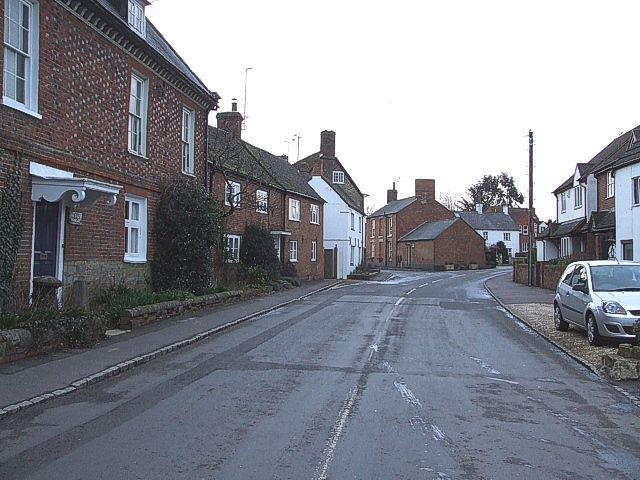 Main Street, Gawcott - view to East