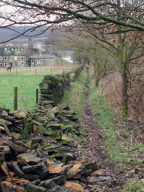 The Calderdale Way, Brighouse